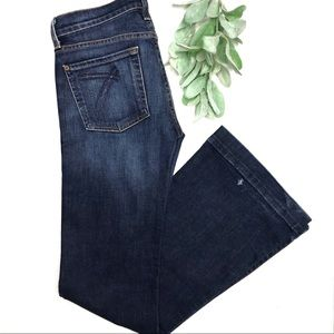7FAM | sz 27 dojo jeans